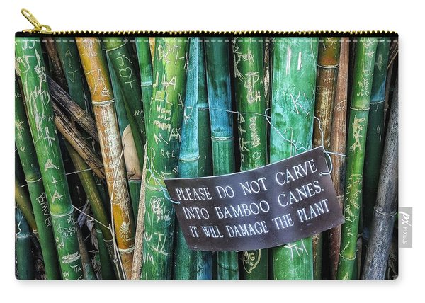 Do Not Carve Carry-all Pouch