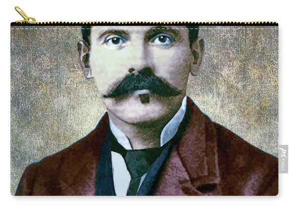Doc Holliday Painterly Carry-all Pouch