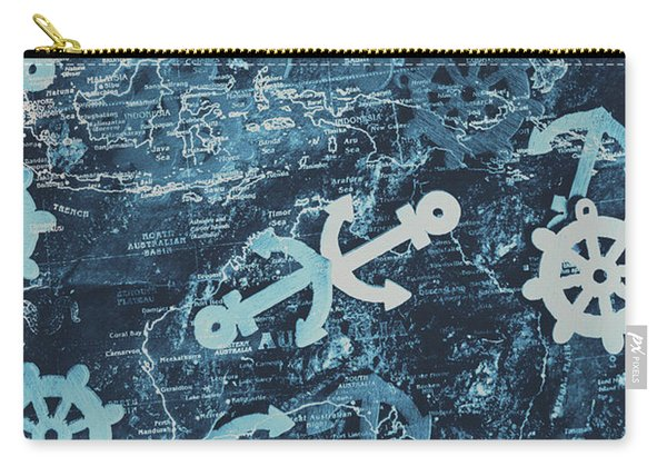 Docks And Ports Carry-all Pouch