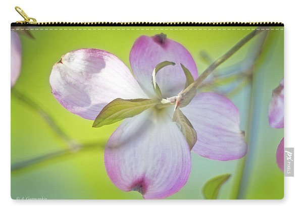 Dogwood Blossom In Spring Carry-all Pouch