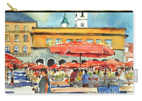 Dolce Market In Zagreb #1 Carry-all Pouch