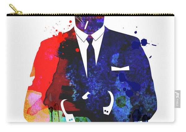 Don Draper Watercolor Carry-all Pouch