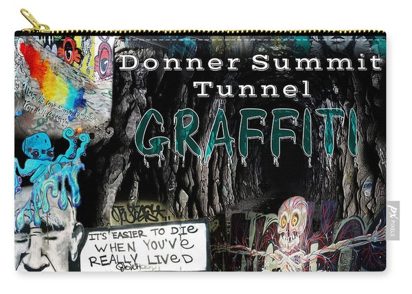 Donner Summit Graffiti Carry-all Pouch