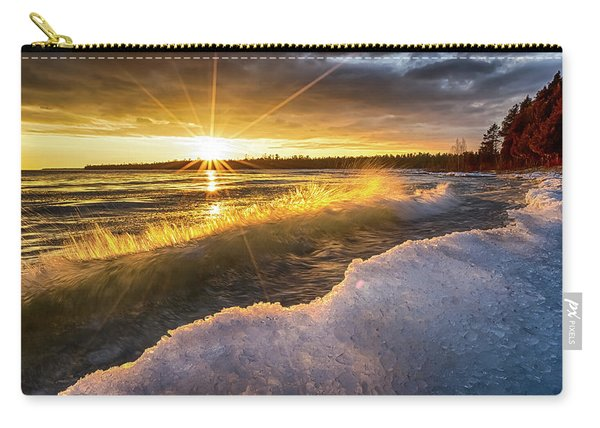 Door County Sunset Carry-all Pouch