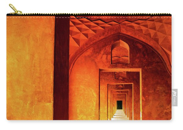 Doors Of India - Taj Mahal Carry-all Pouch