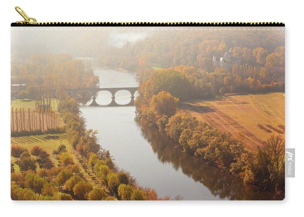 Dordogne River In The Mist Carry-all Pouch