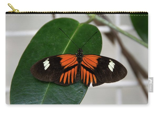 Doris Longwing On Leaf Carry-all Pouch