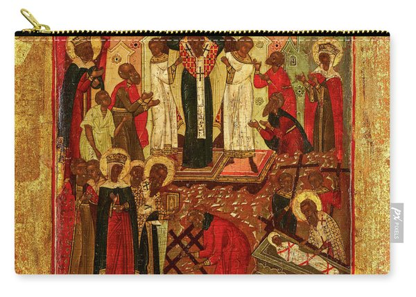Dormition And The Elevation Of The True Cross, Russia Carry-all Pouch