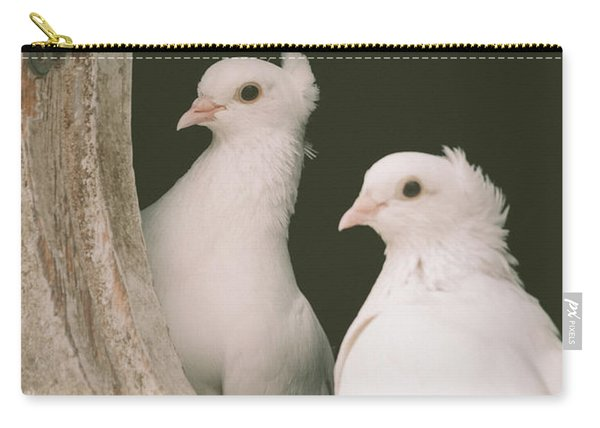 A Pair Of Doves Carry-all Pouch