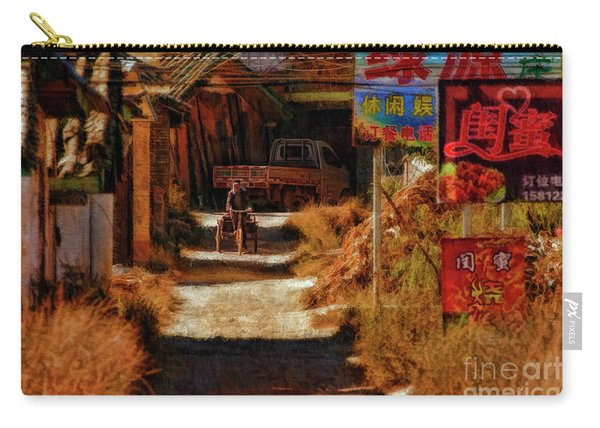 Down The Hill In China Carry-all Pouch