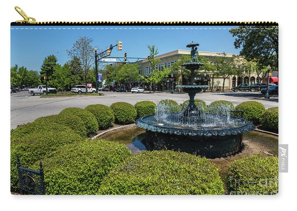 Downtown Aiken Sc Fountain Carry-all Pouch