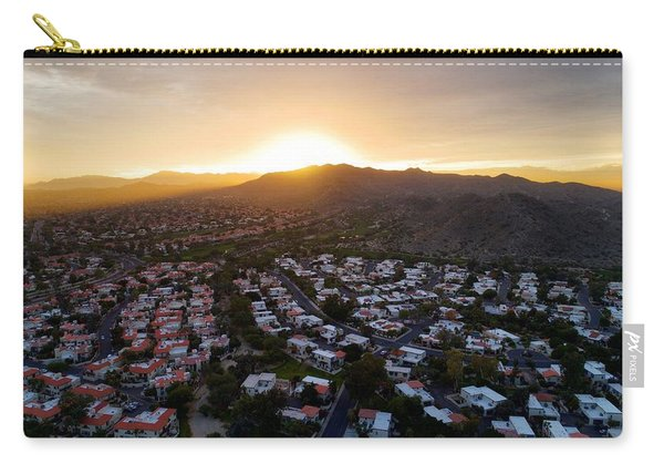 Dramatic South Mountain Sunset Carry-all Pouch