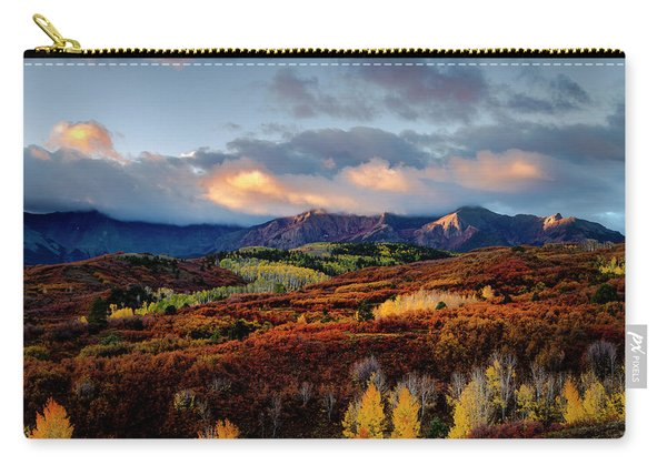Dramatic Sunrise In The San Juan Mountains Of Colorado Carry-all Pouch