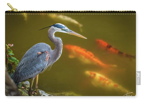 Dreaming Tricolor Heron Carry-all Pouch