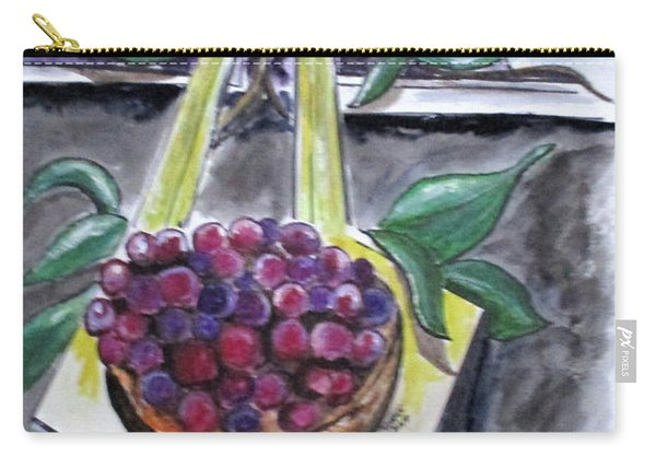 Dreams Of Grapes Carry-all Pouch