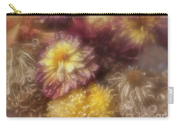 Dried Dahlias And Chrysanthemums From My Garden. Carry-all Pouch