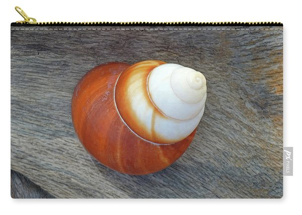 Driftwood And Periwinkle Carry-all Pouch