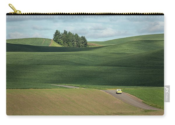 Drive In The Palouse Carry-all Pouch