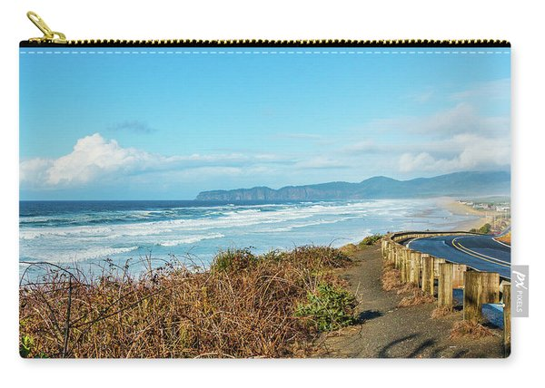 Driving The Oregon Coast Carry-all Pouch