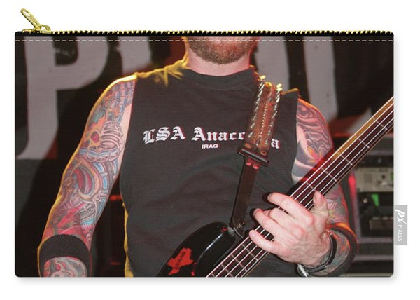 Drowning Pool Stevie Benton Carry-all Pouch