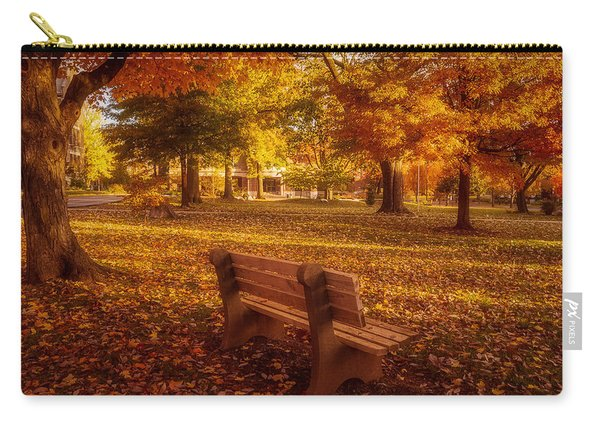 Carry-all Pouch featuring the photograph Drury Autumn Color by Allin Sorenson