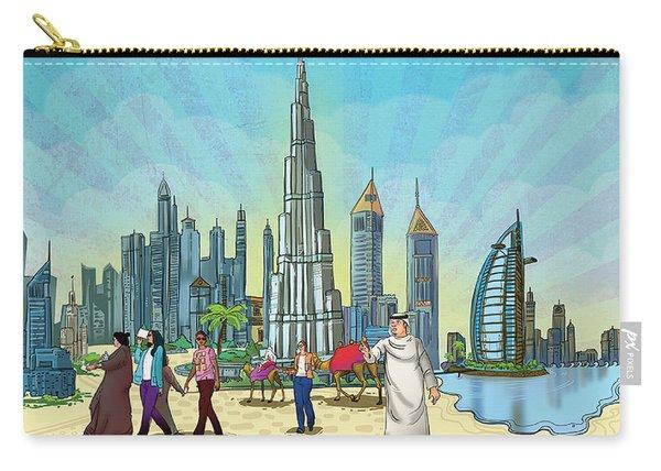 Dubai Illustration  Carry-all Pouch