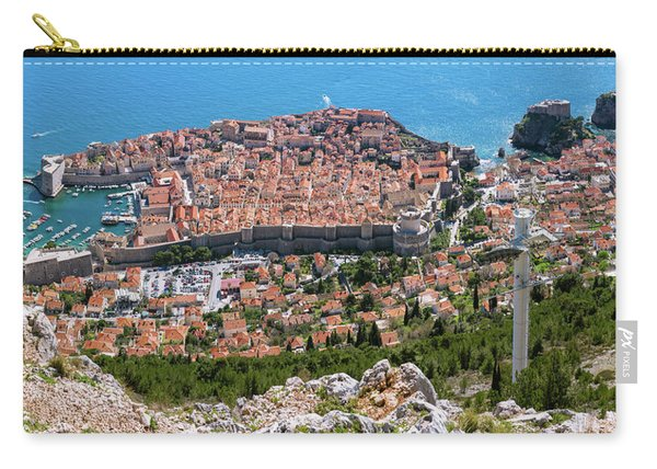 Dubrovnik Panorama From The Hill Carry-all Pouch