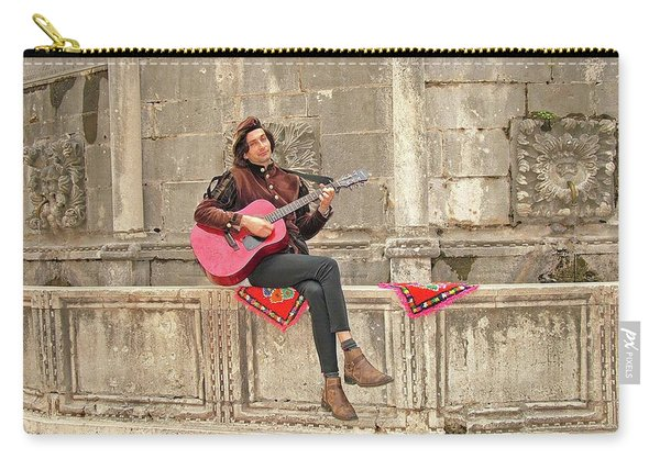 Dubrovnik Street Musician Carry-all Pouch
