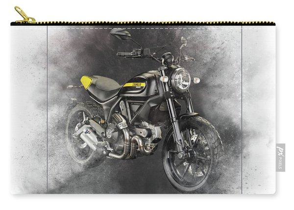 Ducati Scrambler Painting Carry-all Pouch