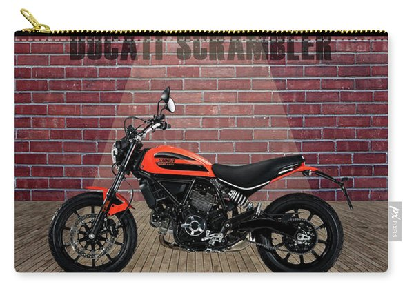 Ducati Scrambler Red Wall Carry-all Pouch
