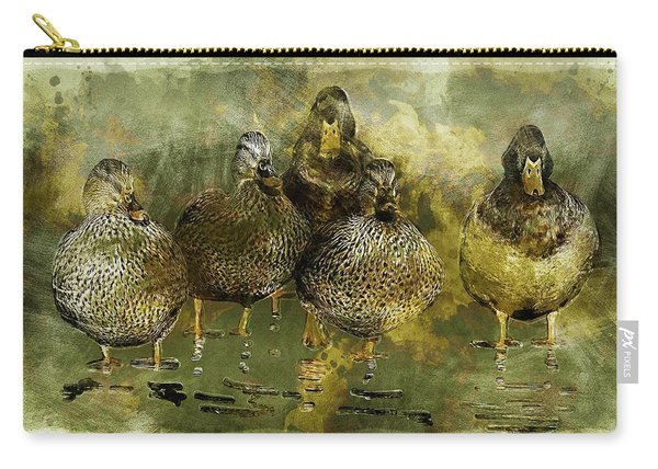 Duck Family Carry-all Pouch