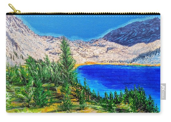 Carry-all Pouch featuring the painting Duck Pass by Kevin Daly