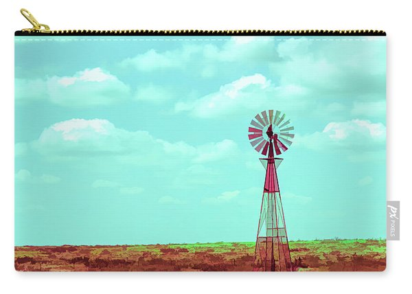Dueling Tones Windmill Carry-all Pouch