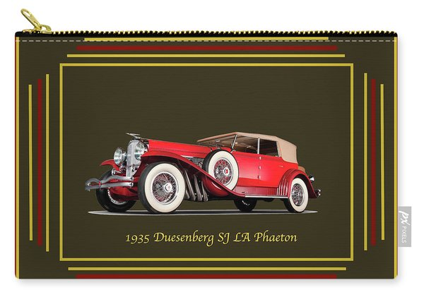 Duesenberg 1935 Carry-all Pouch