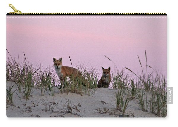 Dune Foxes Carry-all Pouch