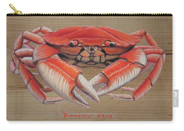 Dungeness Crab Carry-all Pouch