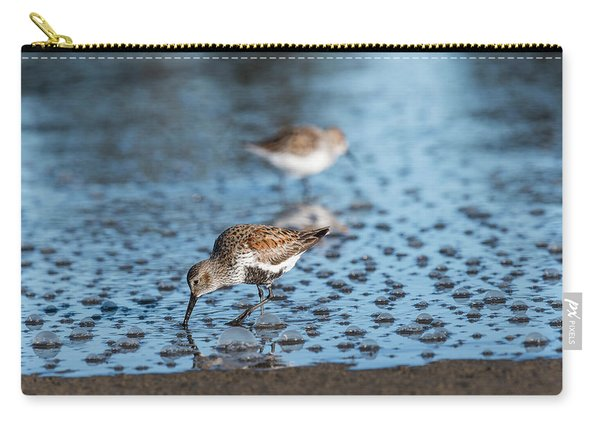 Dunlin And Bubbles Carry-all Pouch