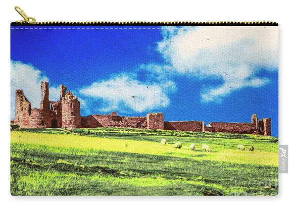 Dunstanburgh Castle In Oil Carry-all Pouch