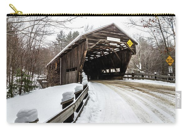 Durgin Covered Bridge Carry-all Pouch