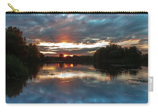 Dusk Aquarelle Carry-all Pouch