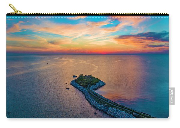 Dusk At The Knob Carry-all Pouch