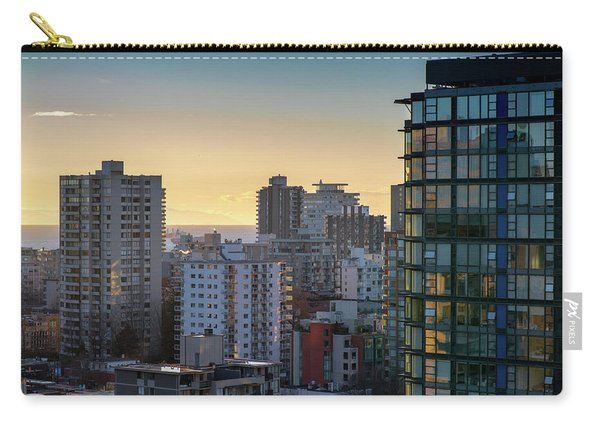 Dusky Hues Over The Pacific Carry-all Pouch