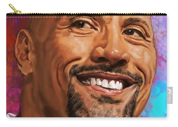 Dwayne The Rock Johnson  Carry-all Pouch