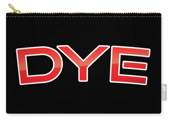 Dye Carry-all Pouch