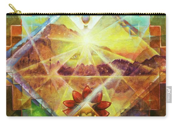 Eagle Boy And The Dawning Of A New Day Carry-all Pouch