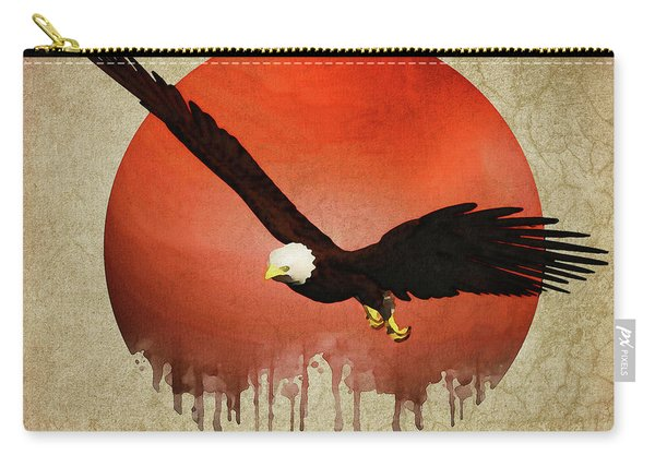 Eagle Flying Carry-all Pouch