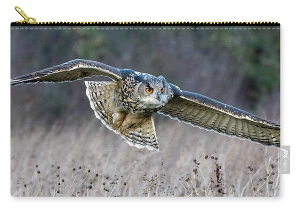 Eagle Owl Gliding Carry-all Pouch