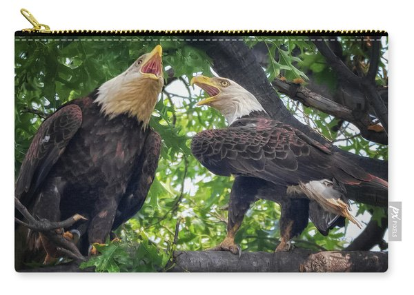 Eagle Pair  Carry-all Pouch