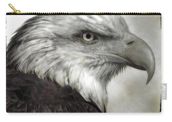 Eagle Protrait Carry-all Pouch