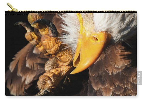 Eagle Scratch Carry-all Pouch